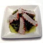 Salade d'algues aux pulpes