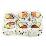 6 maki California (avocat saumon)