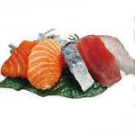 Sashimi assortis (5 pièces)