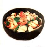 Udon aux fruits de mer